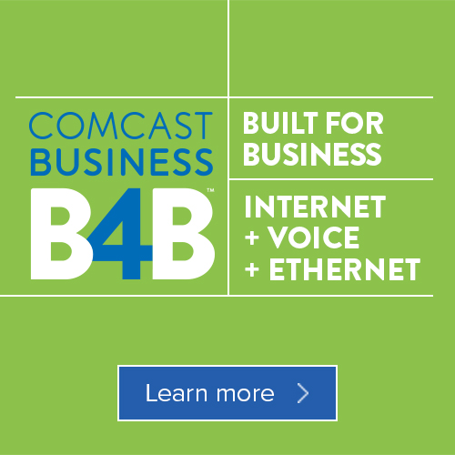 <b>Comcast Supports IAM Networking Brunch</b>