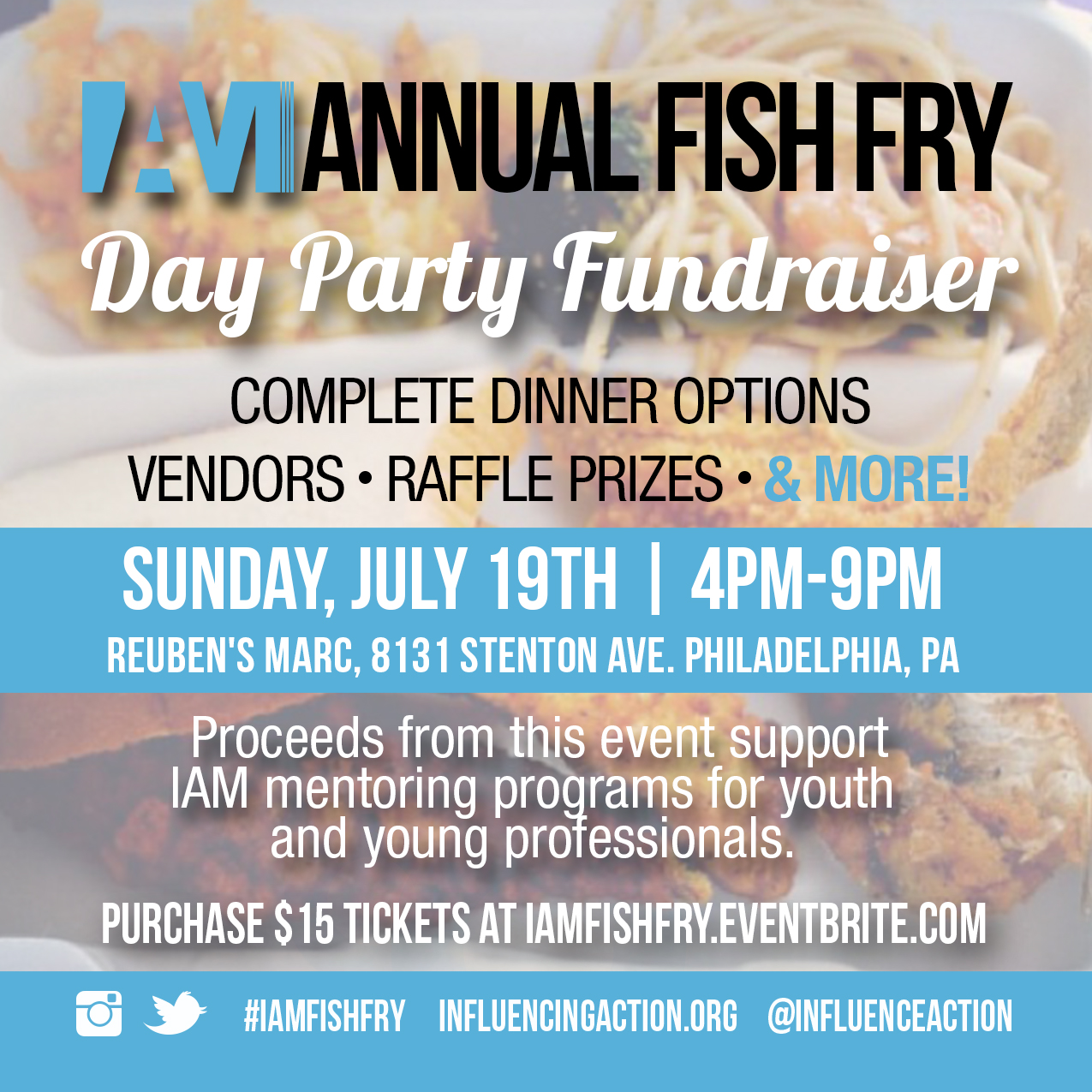 how to start a fish fry fundraiser