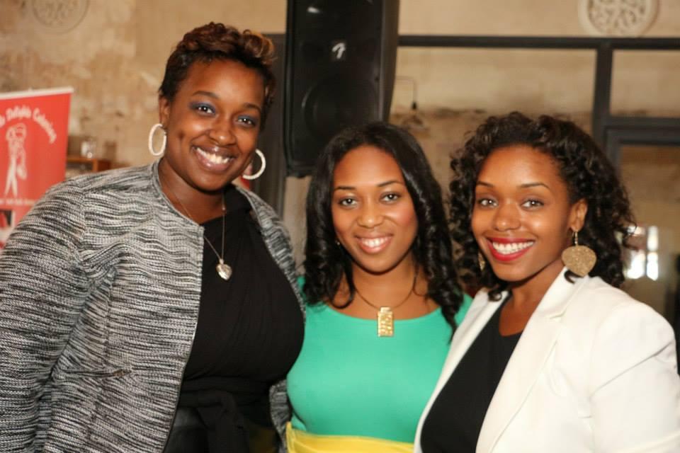 Women in Media Founders: Haniyyah Sharpe-Brown, Danielle P. Jeter & Syreeta Martin