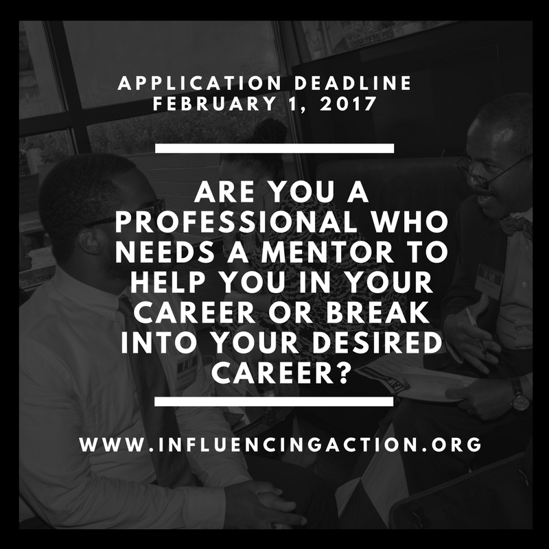 <b> IAM Mentoring for Professionals: Apply by February 1st</b>