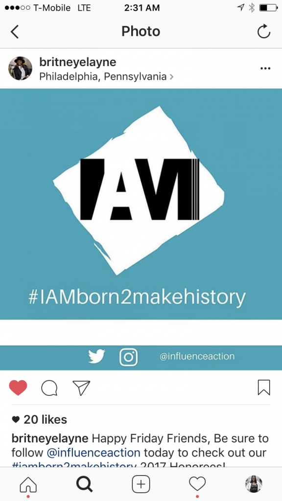 <b>2017 IAM Born 2 Make History Honorees</b>
