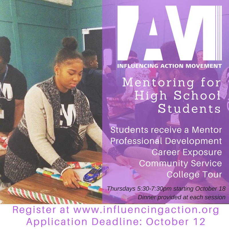 Apply Now: IAM Mentoring for High School Students 2018 - 2019