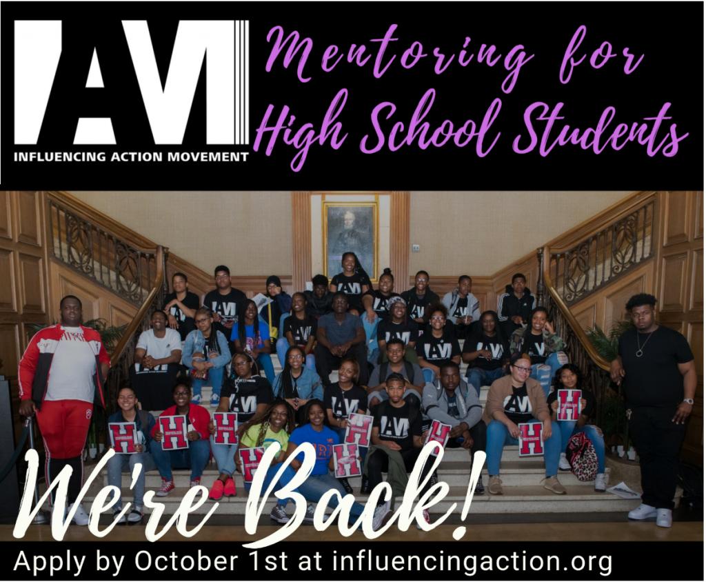 We're Back: IAM 2019 -2020 Mentoring for High School Program