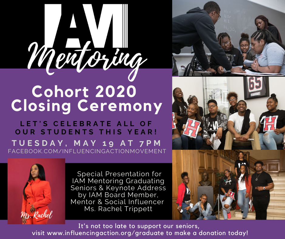 Live Stream Our 2020 IAM Mentoring Closing Ceremony